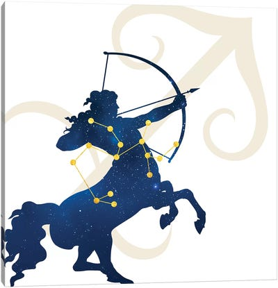 Stars of Sagittarius Canvas Art Print