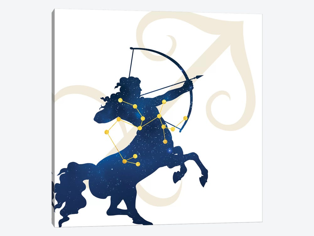 Stars of Sagittarius by 5by5collective 1-piece Canvas Print