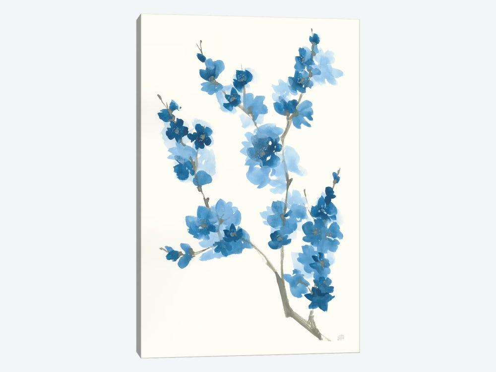 Blue Branch IV by Chris Paschke 1-piece Canvas Art