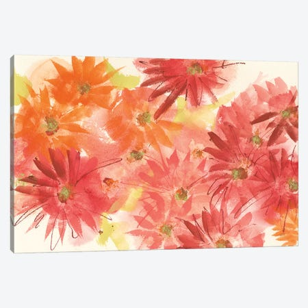 Flowers Afield II Canvas Print #CPA121} by Chris Paschke Canvas Print