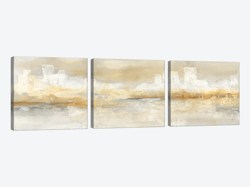 City Essence I by Chris Paschke 3-piece Canvas Art Print