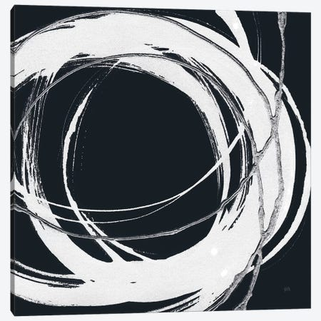 Gilded Enso II BW Canvas Print #CPA155} by Chris Paschke Canvas Art Print