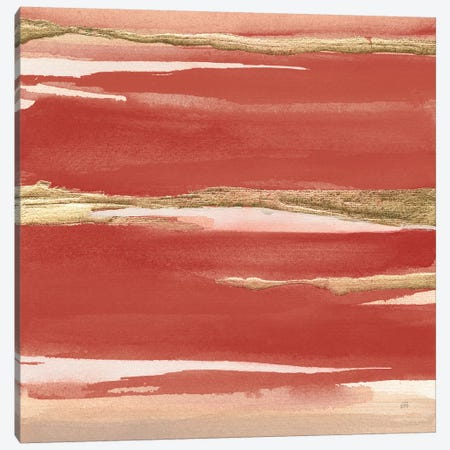 Gilded Red I Canvas Print #CPA163} by Chris Paschke Canvas Print