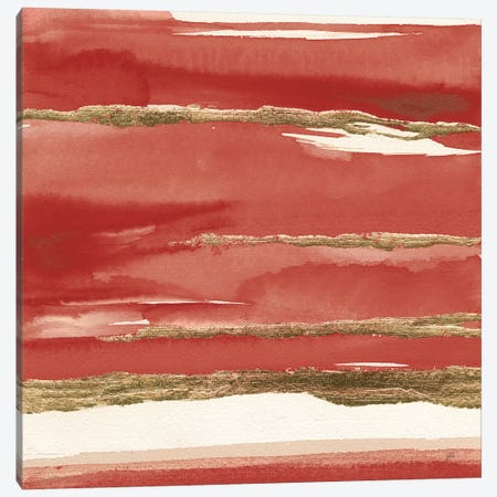 Gilded Red II Canvas Print #CPA164} by Chris Paschke Canvas Art