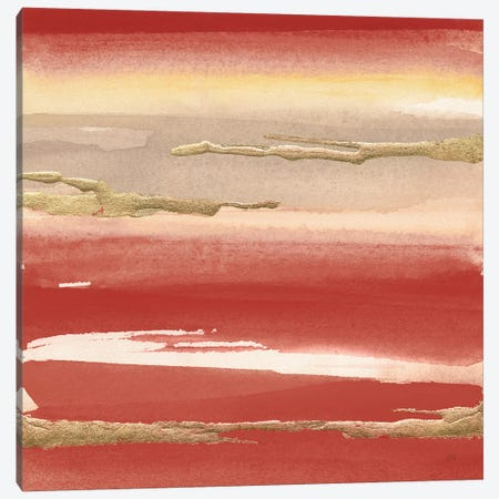 Gilded Red III Canvas Print #CPA165} by Chris Paschke Canvas Wall Art