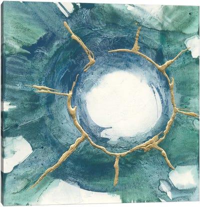Dharma Wheel I Canvas Art Print
