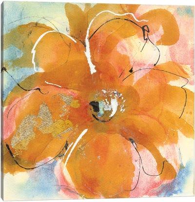 Amber Wash II Canvas Art Print
