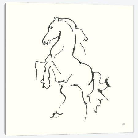 Line Horse I Canvas Print #CPA198} by Chris Paschke Canvas Art