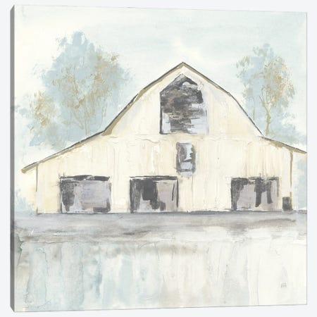 White Barn V Canvas Print #CPA209} by Chris Paschke Canvas Wall Art