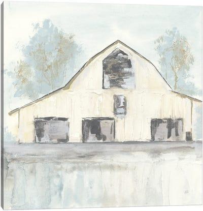 White Barn V Canvas Art Print