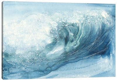 In the Blue VI Canvas Art Print