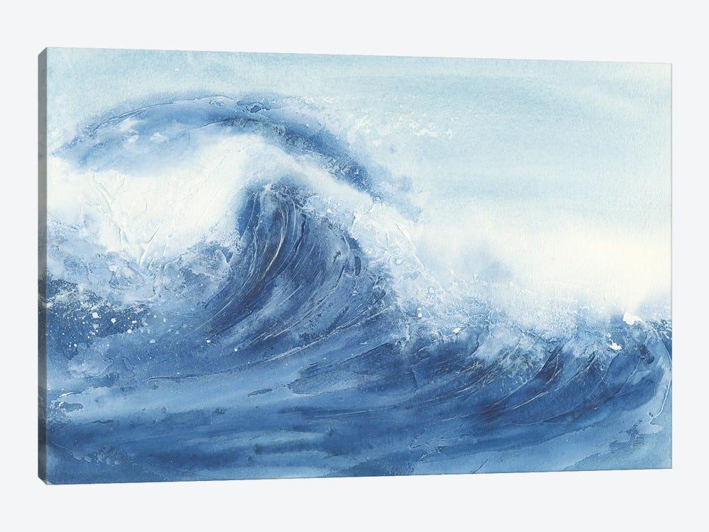 Waves II by Chris Paschke 1-piece Canvas Art Print
