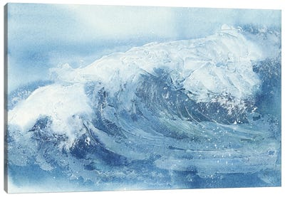 Waves IV Canvas Art Print