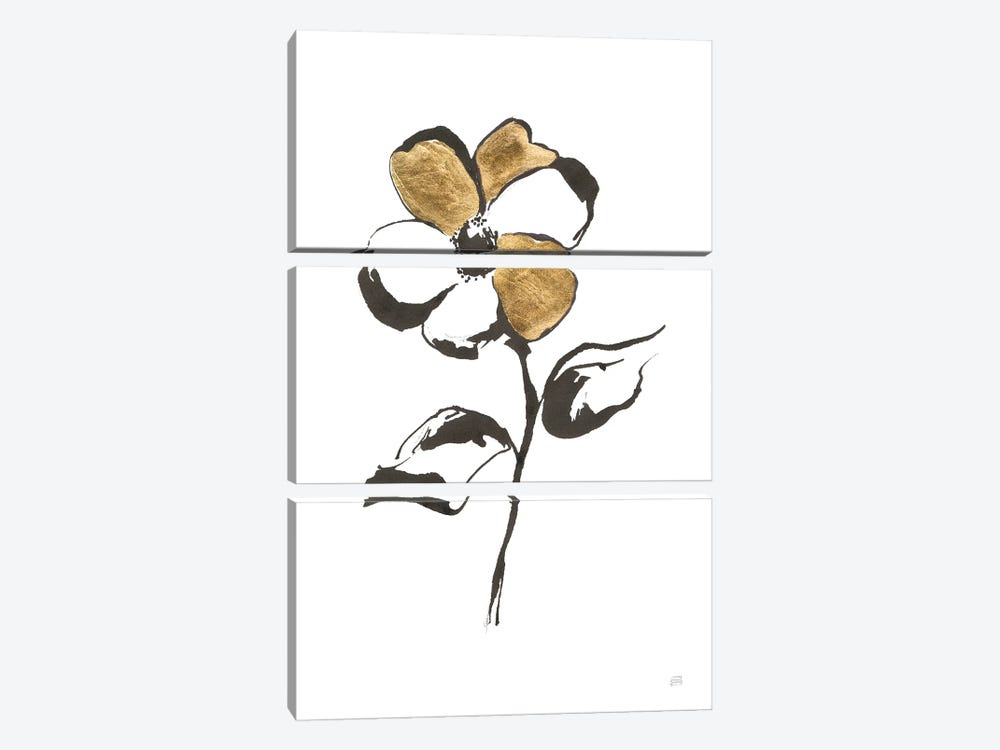 Leafed III by Chris Paschke 3-piece Canvas Wall Art
