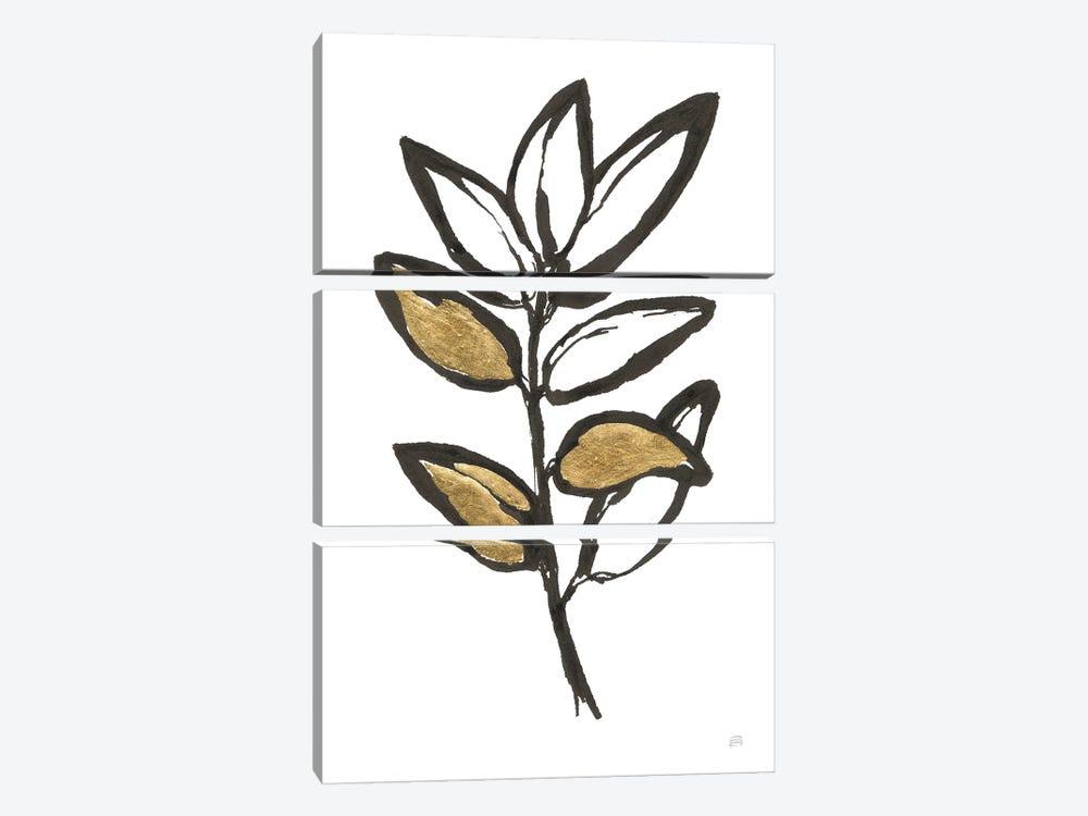 Leafed IX by Chris Paschke 3-piece Canvas Wall Art
