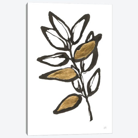 Leafed X Canvas Print #CPA220} by Chris Paschke Canvas Wall Art