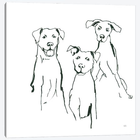 Lovable Mutts I Canvas Print #CPA221} by Chris Paschke Canvas Art