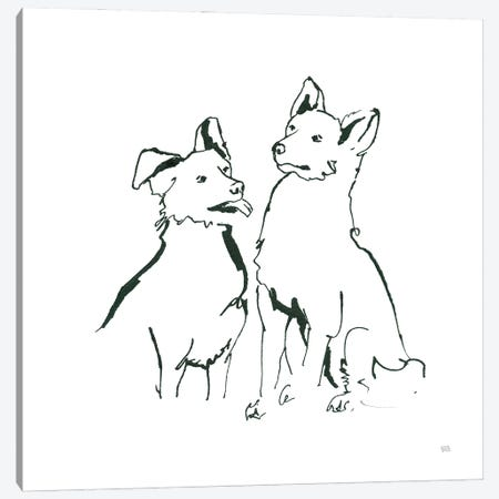 Lovable Mutts VI Canvas Print #CPA226} by Chris Paschke Canvas Print