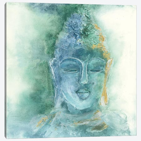 Gilded Buddha II Canvas Print #CPA22} by Chris Paschke Art Print