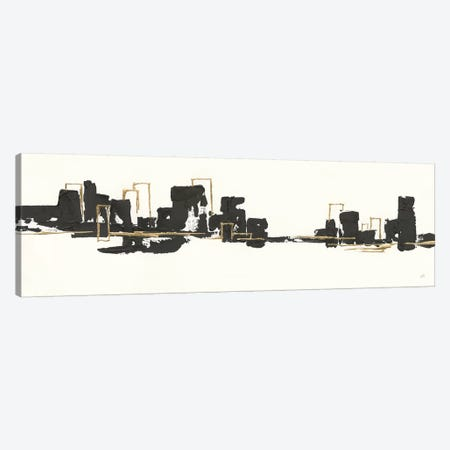 Gilded City II 3-Piece Canvas #CPA24} by Chris Paschke Canvas Artwork