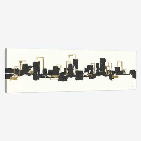 Gilded City III Canvas Print #CPA25} by Chris Paschke Canvas Artwork