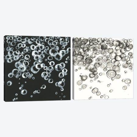Bubbles Diptych Canvas Print Set #CPA2HSET001} by Chris Paschke Art Print