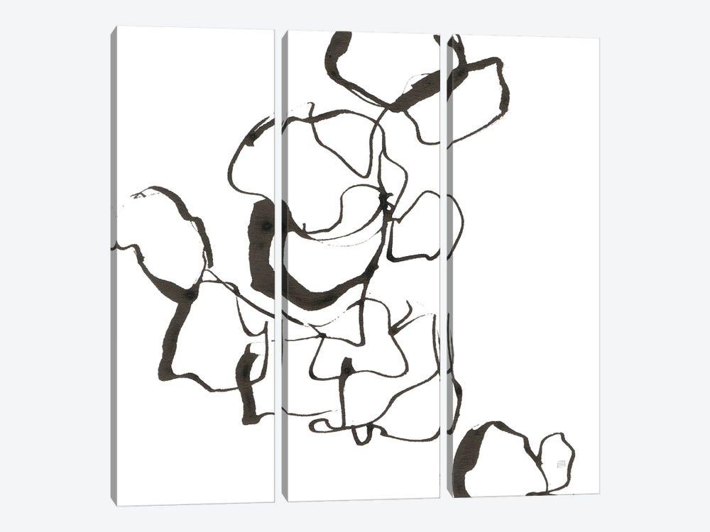 Stoned III by Chris Paschke 3-piece Canvas Art