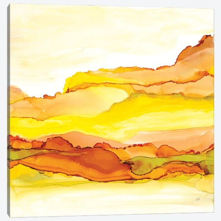 Yellowscape I Canvas Print #CPA329} by Chris Paschke Canvas Print