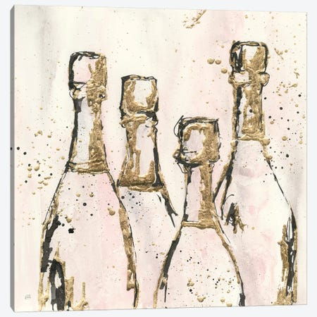 Champagne Is Grand I 3-Piece Canvas #CPA40} by Chris Paschke Canvas Print