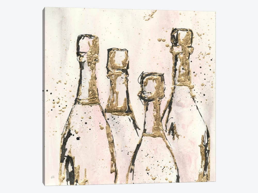 Champagne Is Grand I by Chris Paschke 1-piece Canvas Art