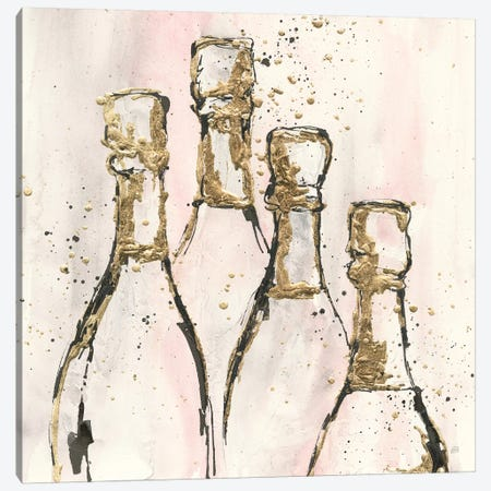 Champagne Is Grand II 3-Piece Canvas #CPA41} by Chris Paschke Canvas Print