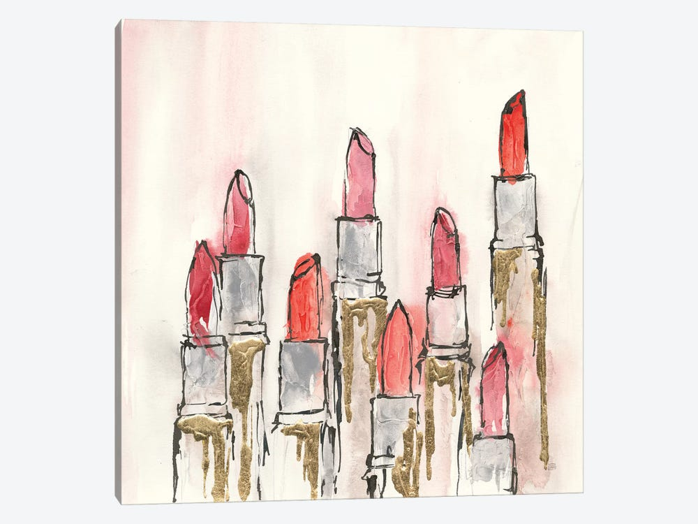 Global Gallery Sue Schlabach Beauty and Sass IV Giclee Stretched Canvas Artwork 24 x 24