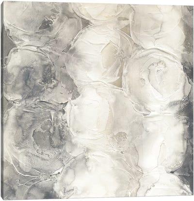 Gray Circles I Canvas Art Print