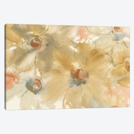 Neutral Blooms Canvas Print #CPA63} by Chris Paschke Art Print
