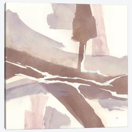 White and Placid I Blush Canvas Print #CPA6} by Chris Paschke Art Print