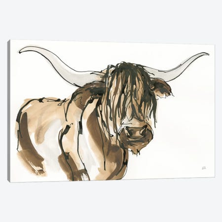 Highlander I Canvas Print #CPA82} by Chris Paschke Canvas Art Print