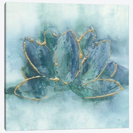 Buddha Lotus Canvas Print #CPA9} by Chris Paschke Canvas Art
