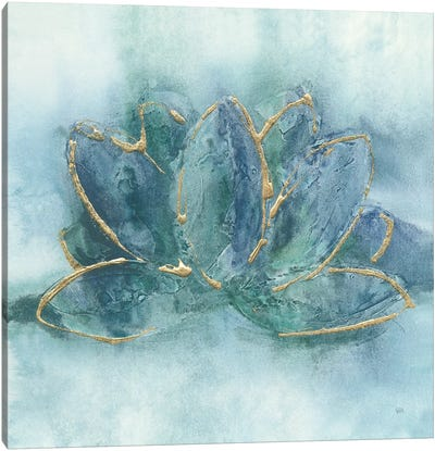 Buddha Lotus Canvas Art Print