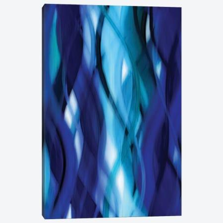 Indigo Flow II Canvas Print #CPB3} by Annie Campbell Canvas Art Print