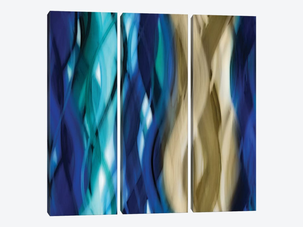 Marvelous Movement by Annie Campbell 3-piece Canvas Wall Art