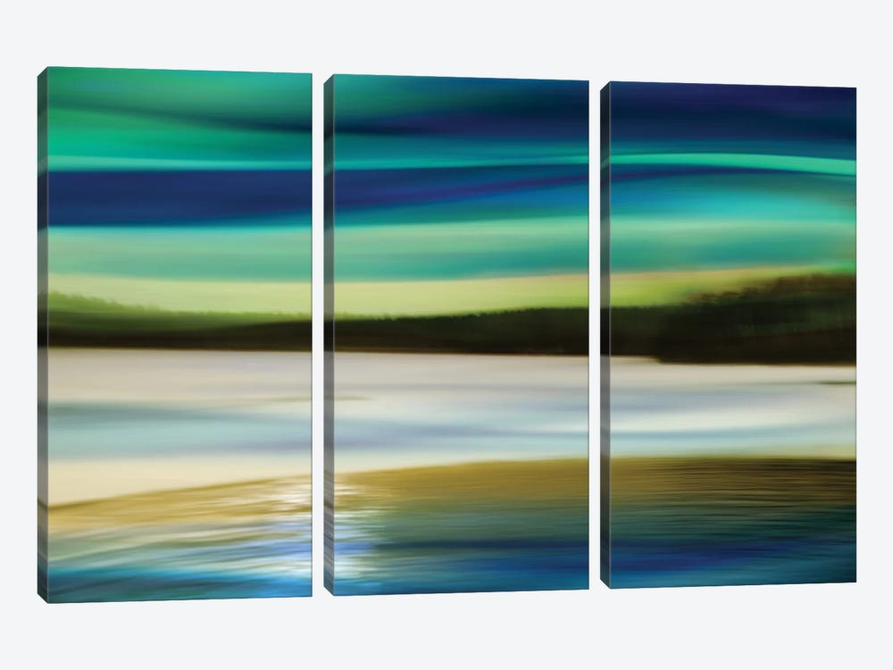 Skylight I by Annie Campbell 3-piece Canvas Print
