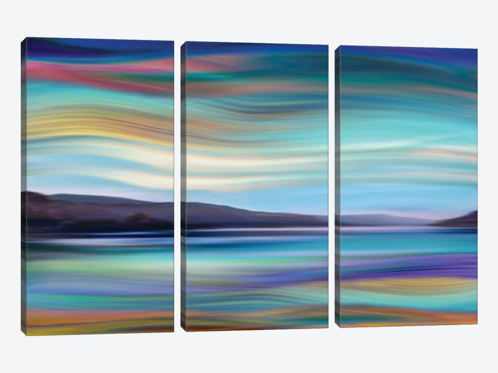 Skylight II by Annie Campbell 3-piece Canvas Art