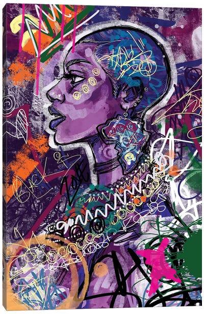 Black Is Love Canvas Art Print