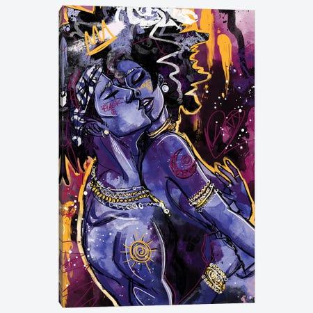 Black Love Canvas Print #CPL2} by Justin Copeland Canvas Art Print