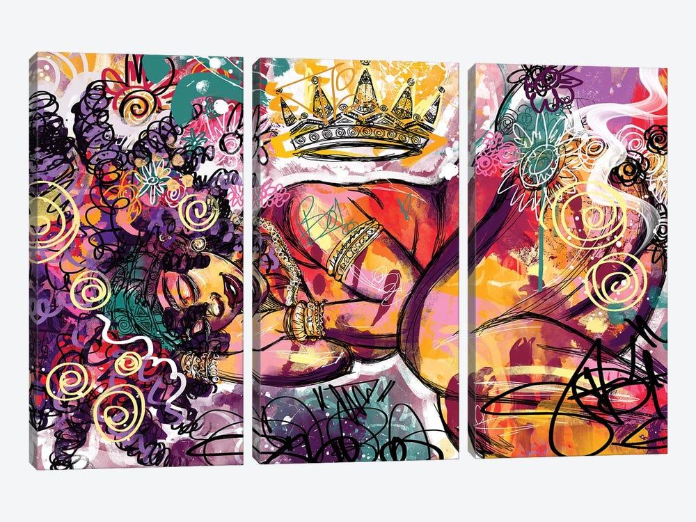 Radiance by Justin Copeland 3-piece Canvas Art Print