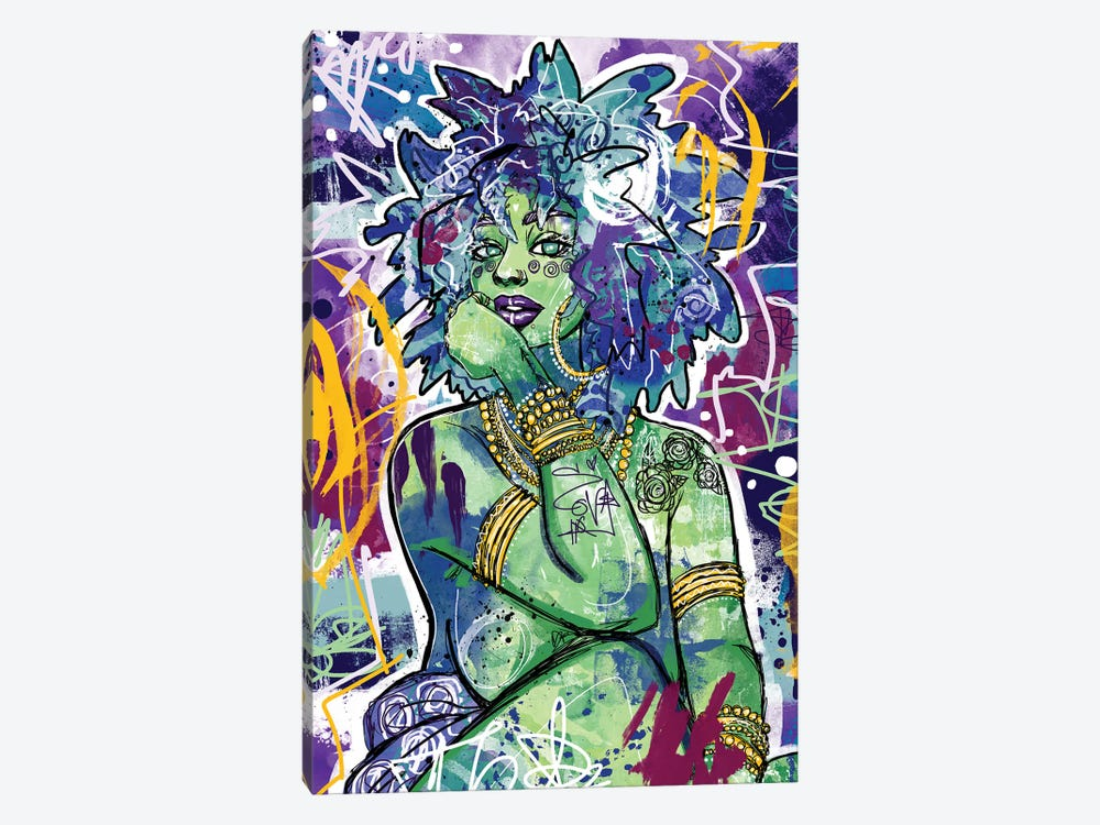Subira by Justin Copeland 1-piece Canvas Art
