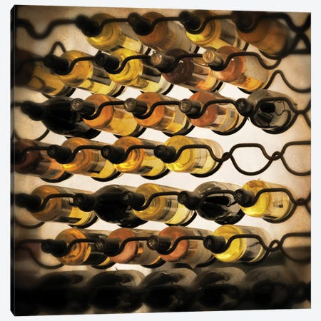 Wine Selection I Canvas Print #CPP13} by Anna Coppel Art Print