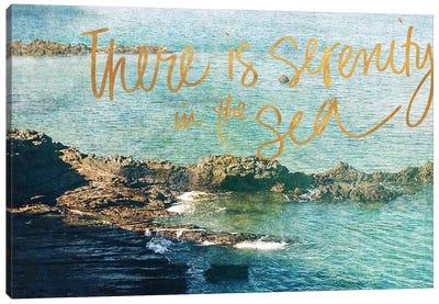 Serenity At The Sea Canvas Art Print