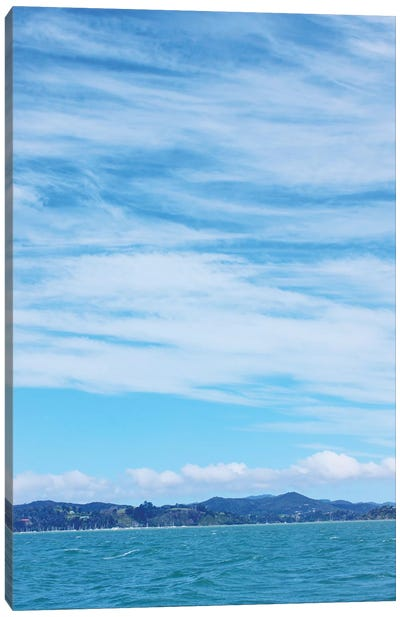 Sky and Water Canvas Art Print