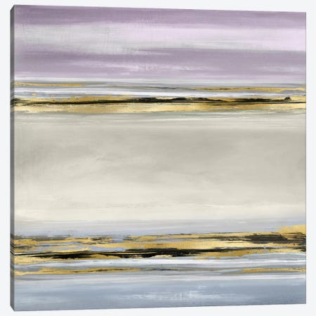 Linear Motion In Lavender 3-Piece Canvas #CRB10} by Allie Corbin Canvas Wall Art